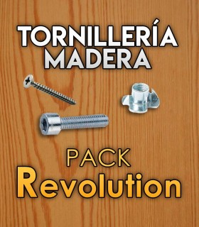 Tornillería para madera para pack Revolution