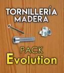Tornillería para madera para pack Evolution