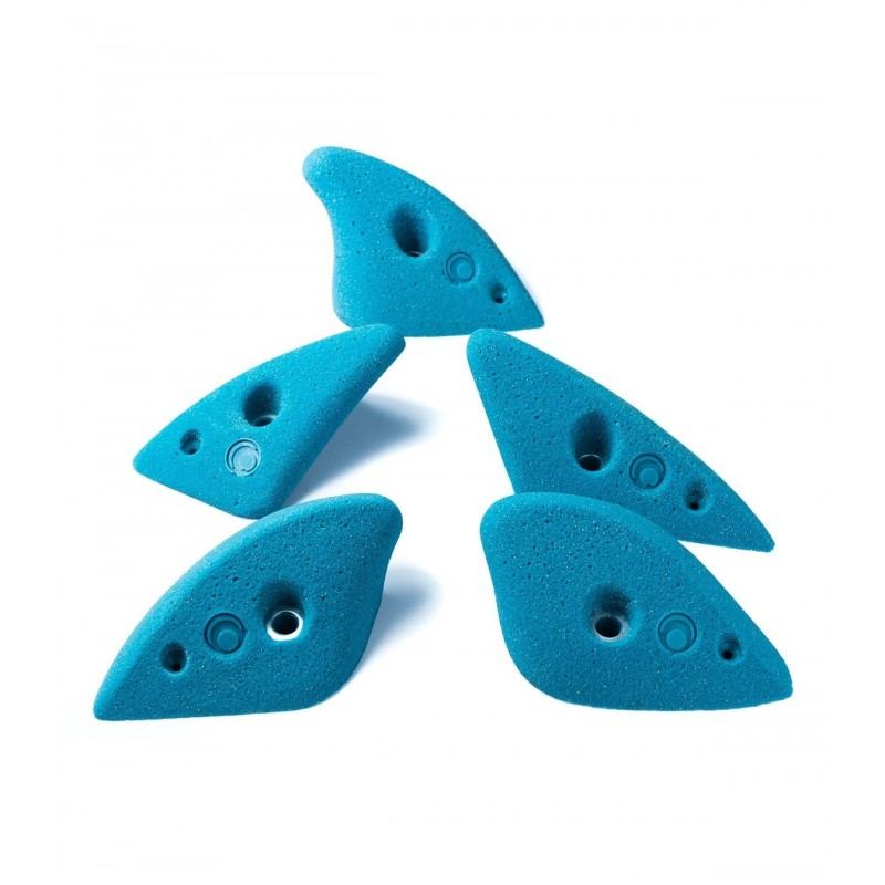 Presas de escalada Shark talla L