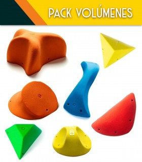 Pack volumen escalada