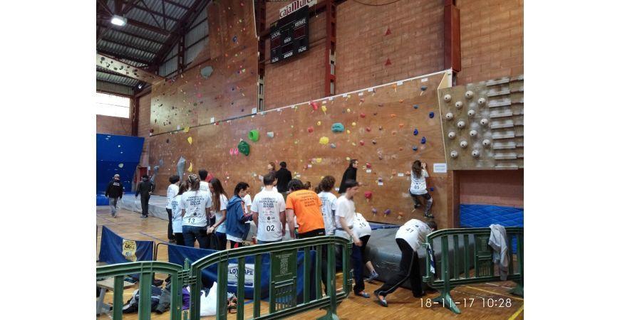 Competición de escalada de la regíon de murcia